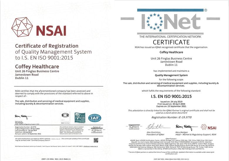 NSAI Certification